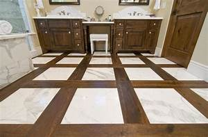 Hardwood Flooring in Bathrooms - Traditional - Bathroom