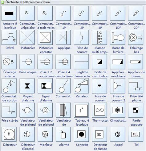 bureau controle batiment symboles de plan de plafond réfléchi et d 39 éclairage et d
