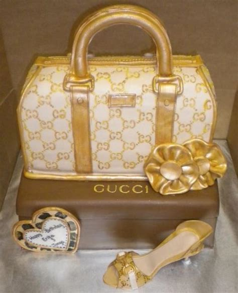 gold gucci handbag  shoe cakejpg  comments