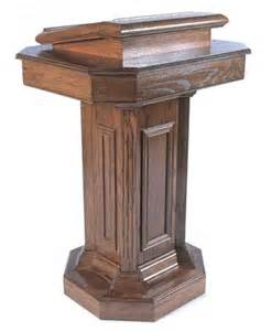 Church Podium S Pulpits Wood
