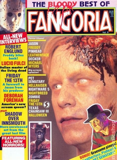 fangoria  comic books