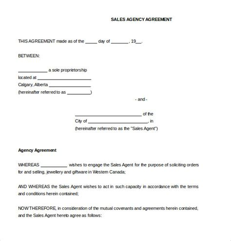 sales contract template 15 sales agreement templates free sle exle format free premium templates