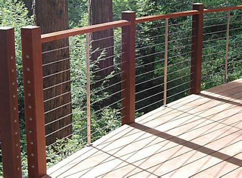 Deck, Patio, Porch, Balcony Cable Railing