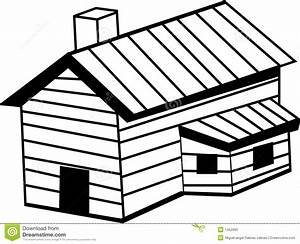 Hut clipart wooden house - Pencil and in color hut clipart ...