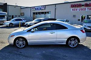 2007 Honda Civic Silver Si Manual Coupe