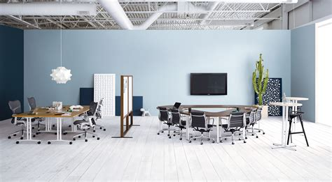 herman miller office modern conference room tables utilizing the space for