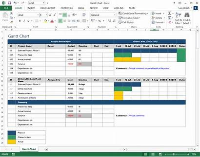 Excel Template Plan Project Planning Spreadsheet Word