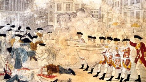 Boston Massacre by The 247th Commemoration And Reenactment Of The Boston
