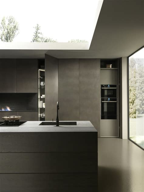 plan cuisine moderne resine epoxy pour plan de travail de cuisine
