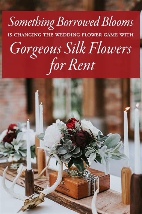 borrowed blooms  changing  wedding flower