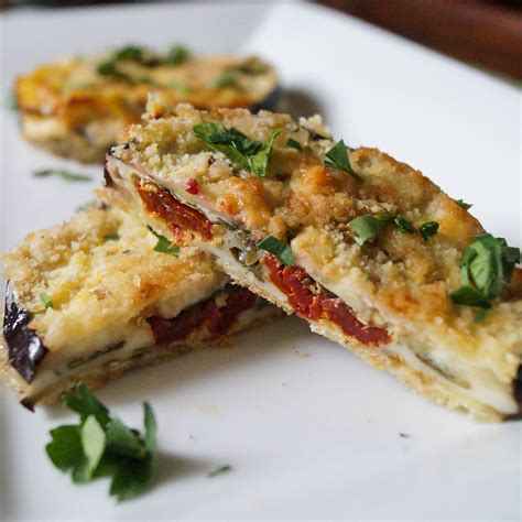eggplant recipes baked eggplant sandwiches tara s multicultural table
