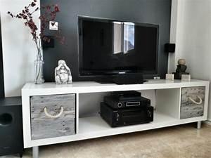 Meuble Tv Original : ikea meubles tv id es de meubles fabriquer soi m me ~ Teatrodelosmanantiales.com Idées de Décoration