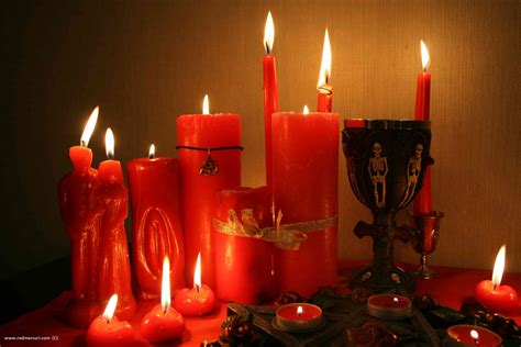 How To Make Red Candle Love Spells. Instructions For Beginners