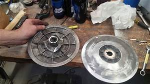 Recondition Secondary Clutch Yamaha G16 And Reusing