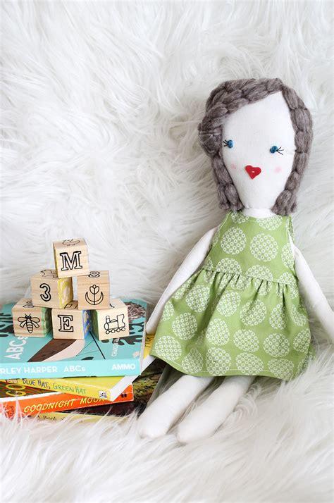 traditional rag doll diy  beautiful mess