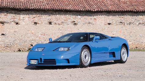 Bugatti Eb110 Gt Is Heading Towards Auction Without