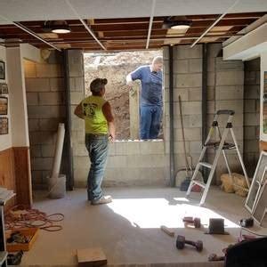 basement issues  adding egress window ryobi nation