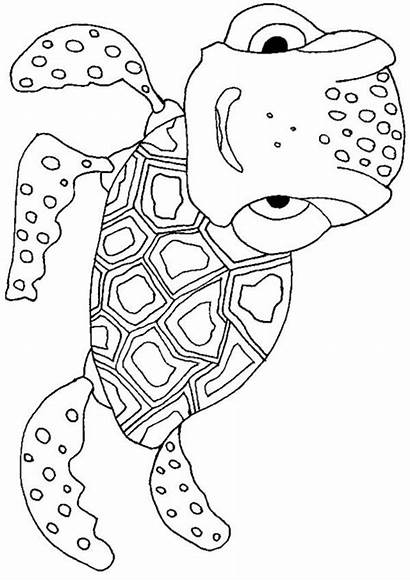 Coloring Animals Animal Pages Printable Cool Mosaic