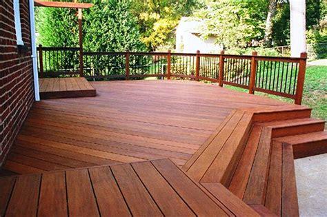 hardwood decking deck installationrepair arbutus sundecks