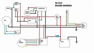 1978 Xs650 Wiring Diagram