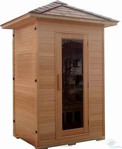2 Mann Sauna : 2 person sauna outdoor far infrared hemlock 5 ceramic ~ Lizthompson.info Haus und Dekorationen