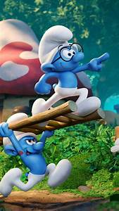 1080x1920 2017 Smurfs The Lost Village Iphone 7,6s,6 Plus ...
