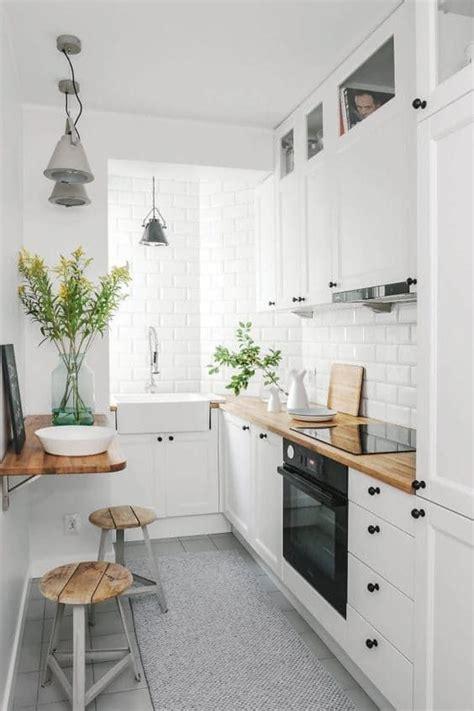 amenager une cuisine en longueur aménager une cuisine en longueur 20 exemples pour vous