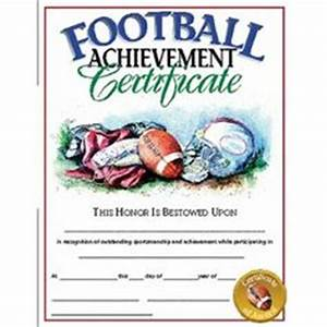 free football certificates certificate free football football