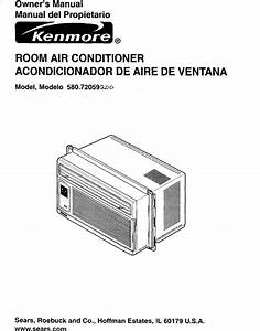 Kenmore 58072059200 User Manual Air Conditioner Manuals