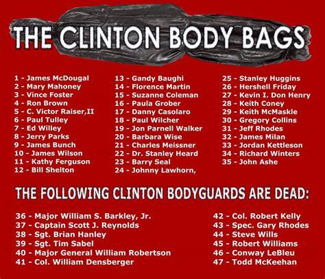 clinton body count
