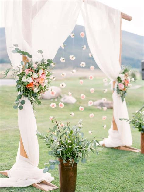 Top 12 Wedding Ceremony Arches With Flowers — The Bohemian