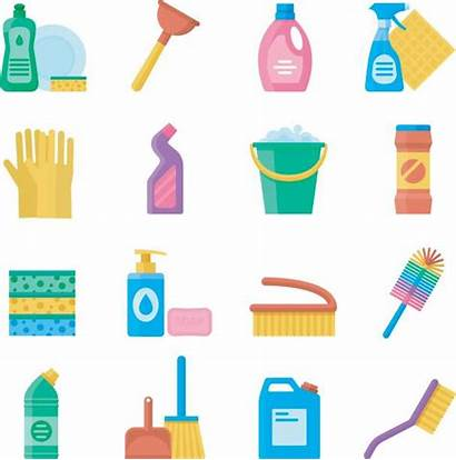 Cleaning Tools Household Supplies Washing Clip Icon