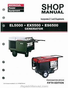 Honda Generator Es6500 Owner S Manual