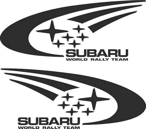 subaru rally logo subaru world rally team decals and stickers the home of