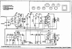 Silvertone 1472 Service Manual Download  Schematics