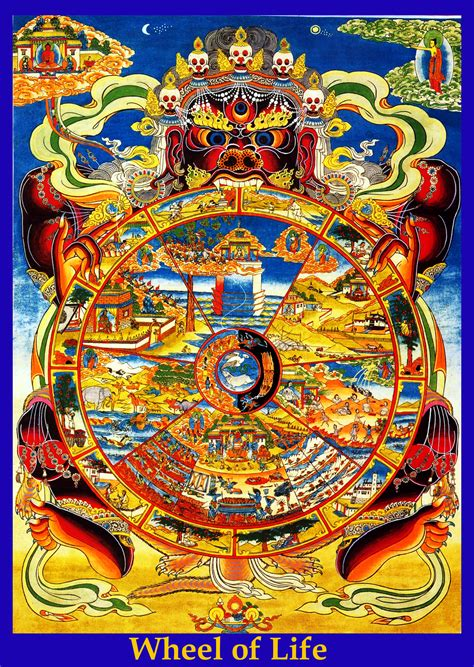 Buddhist Wheel Of Life Quotes