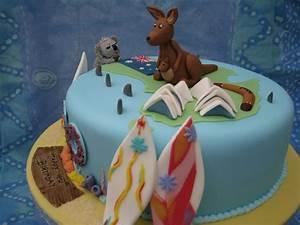 Australian Birthday Cake - CakeCentral com