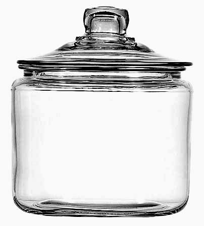 large glass jars with lids anchor hocking 69832 large glass storage jar with glass lid 8888