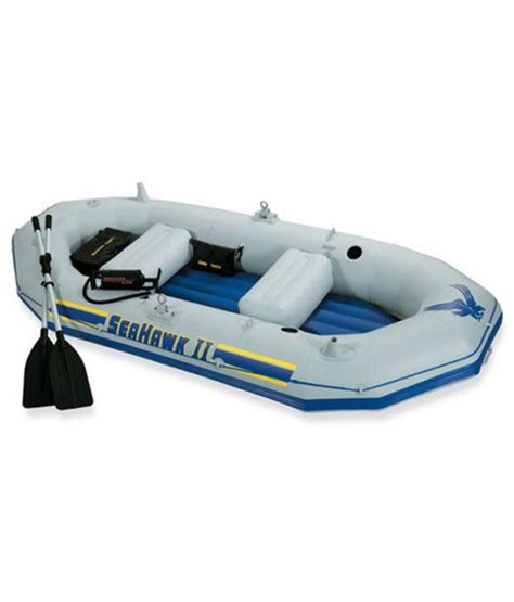 Inflatable Boat Online India by Kayak Inflatable Rubber Boat Car Pump House Buy Online At