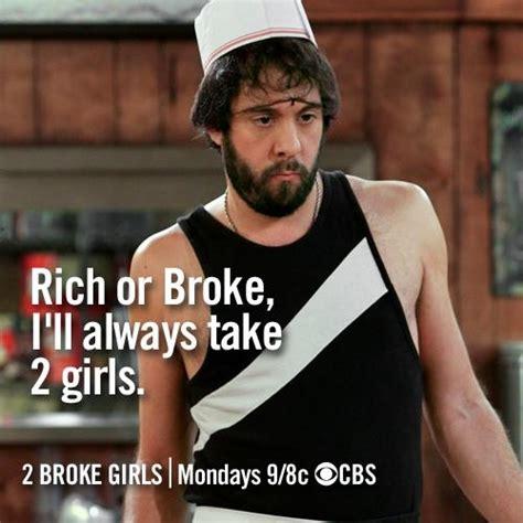 Broke Meme - photos 2 broke girls meme on cbs com