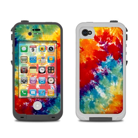 iphone four cases lifeproof iphone 4 skin tie dyed by retro decalgirl 1296