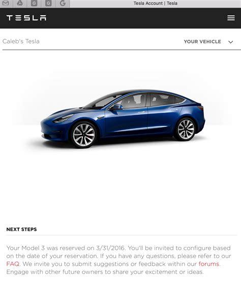 Download Tesla 3 Reservation Delivery Estimate Background