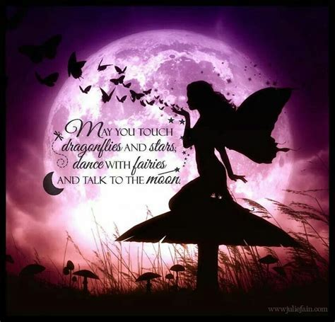 moon and stars fairy l may you touch dragonflies and stars dance with fairies