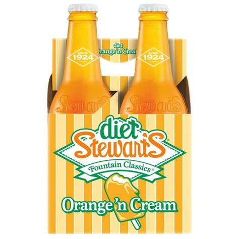 Creamers vary in nutrients and additives they contain, so it is important to look at the nutrition facts label and ingredients list. Diet Stewart's Orange 'n Cream Soda (12 fl oz) - Instacart