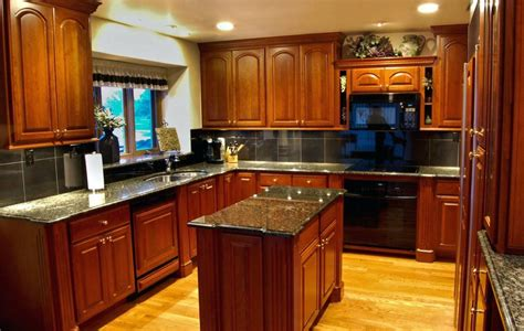hickory floors with oak cabinets hickory dark kitchen cabinets dark stained crown molding paint colors for kitchens with honey