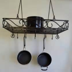 wrought iron pot rack wrought iron hanging pot rack foter 1668
