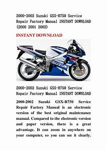2000 2002 Suzuki Gsx