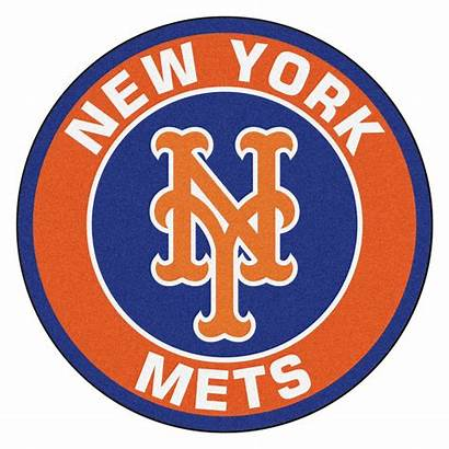 Mets York Mlb Round Area Baseball Fanmats