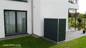 Geräteschuppen Modernes Design : gartenschrank metall kunststoff garten q gmbh ~ Markanthonyermac.com Haus und Dekorationen