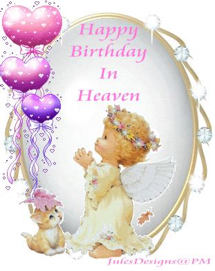 Happy Birthday In Heaven Images Happy Birthday To My In Heaven Quotes Quotesgram